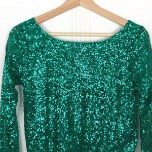 ASOS Dresses - Asos Sequin Cowl Back Dress